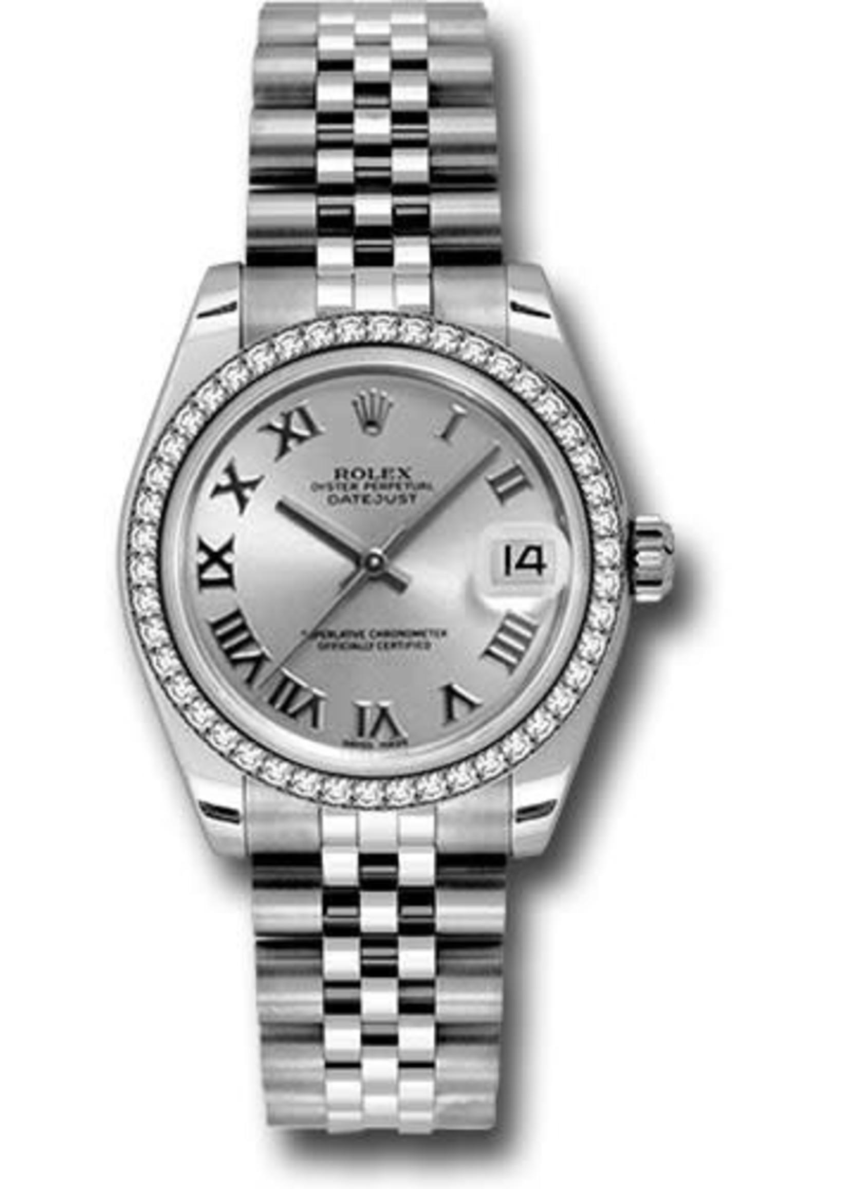 Rolex ROLEX DATEJUST  31MM #178384 (2011 B+P) BRAND NEW NEVER WORN