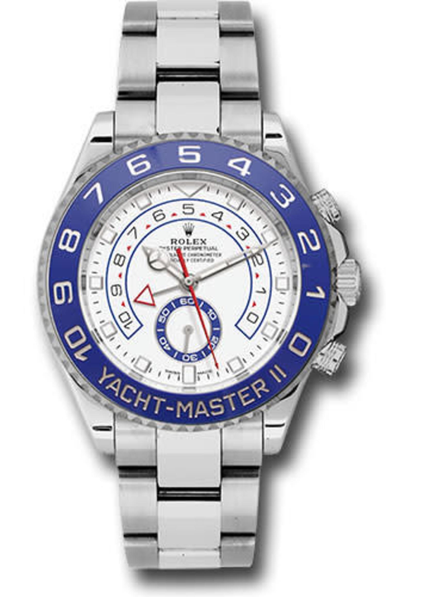 Rolex Watches ROLEX YACHT MASTER II 44MM (2018 B+P) #116680