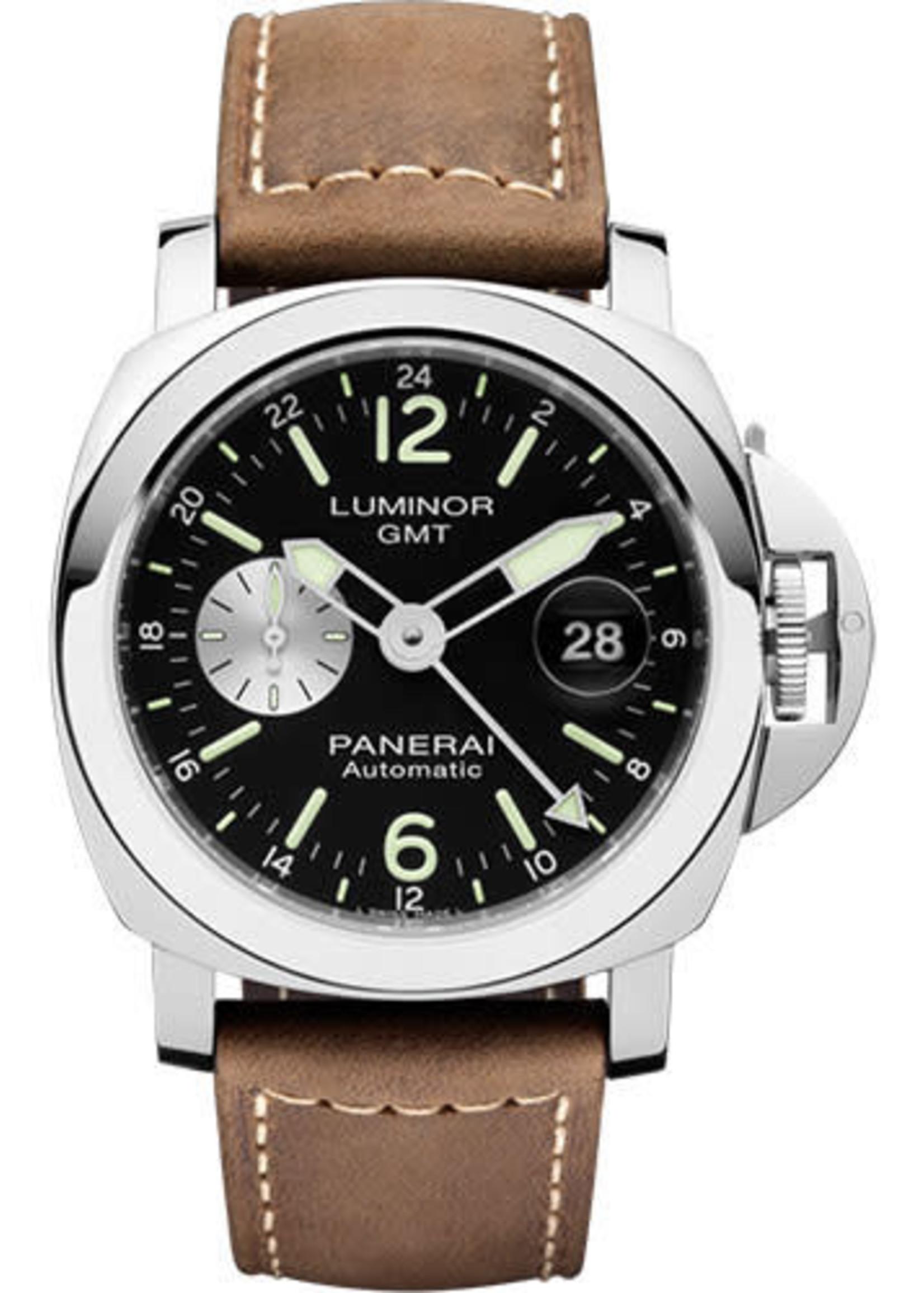Panerai PANERAI LUMINOR GMT 44MM (2007 B+P) # PAM01088