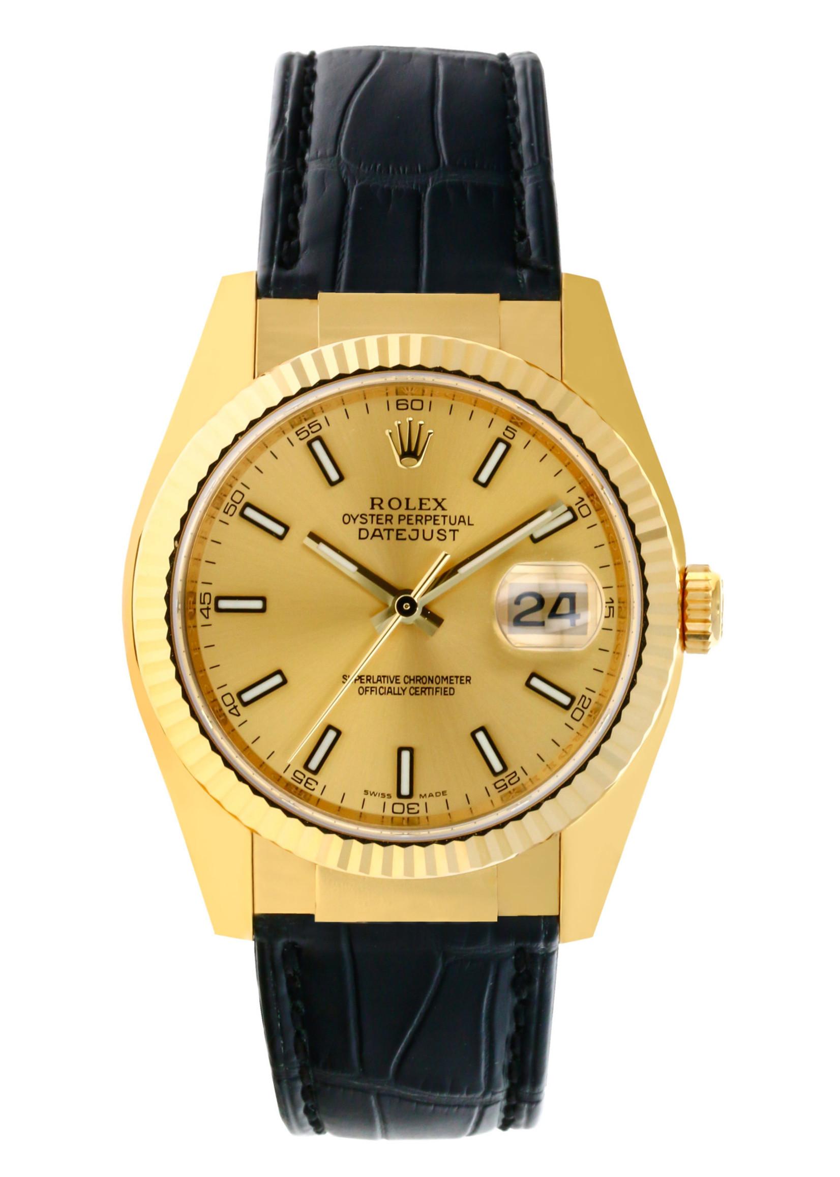 Rolex Watches ROLEX DATEJUST 36MM (2006 B+P) #116138 BRAND NEW