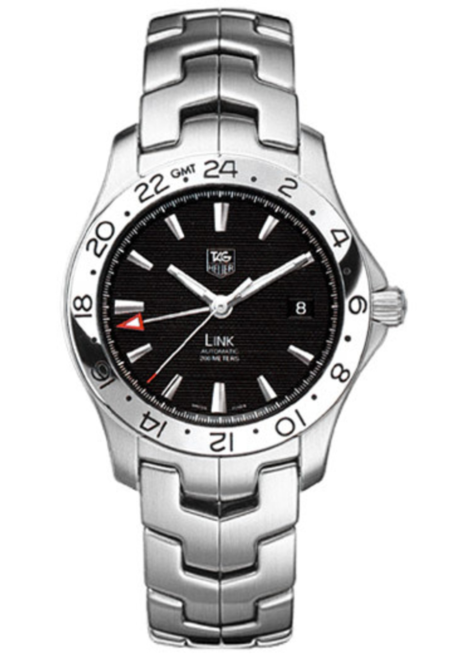 TAG HEUER GMT 40MM (2008 B+P) #WJF2116
