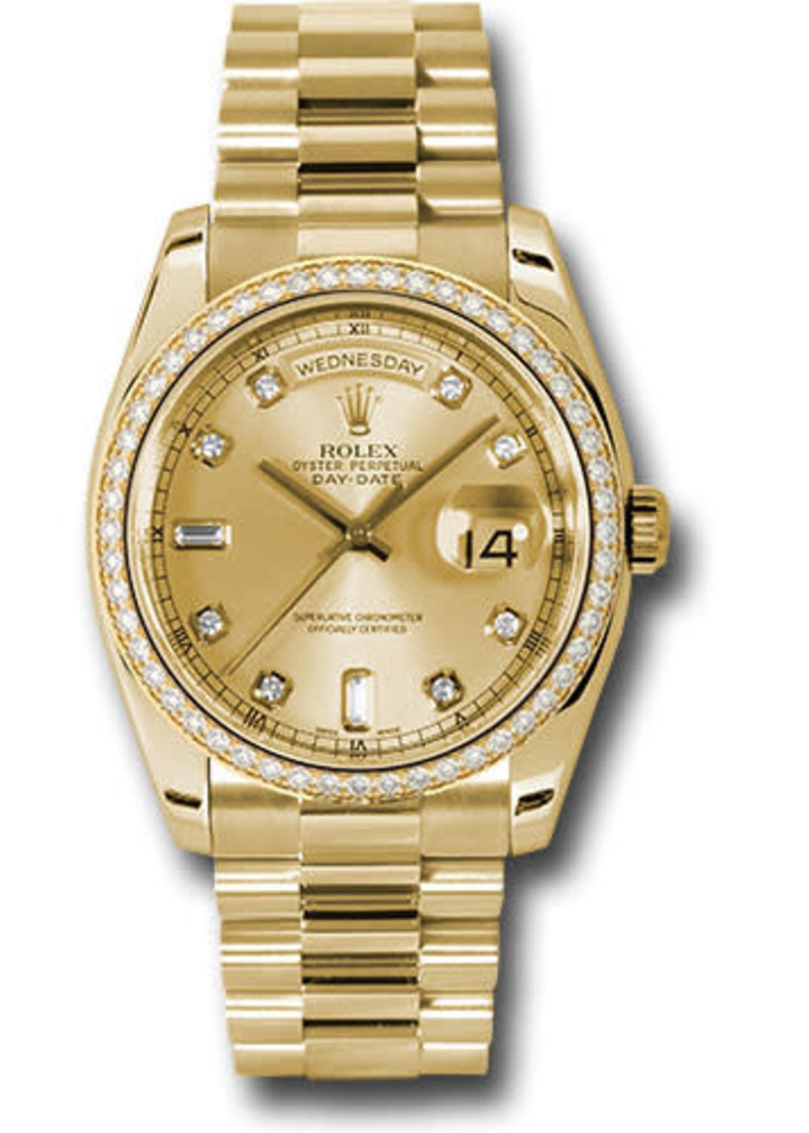 Rolex Rolex Day Date 36mm #18348 (1990 B+SP)
