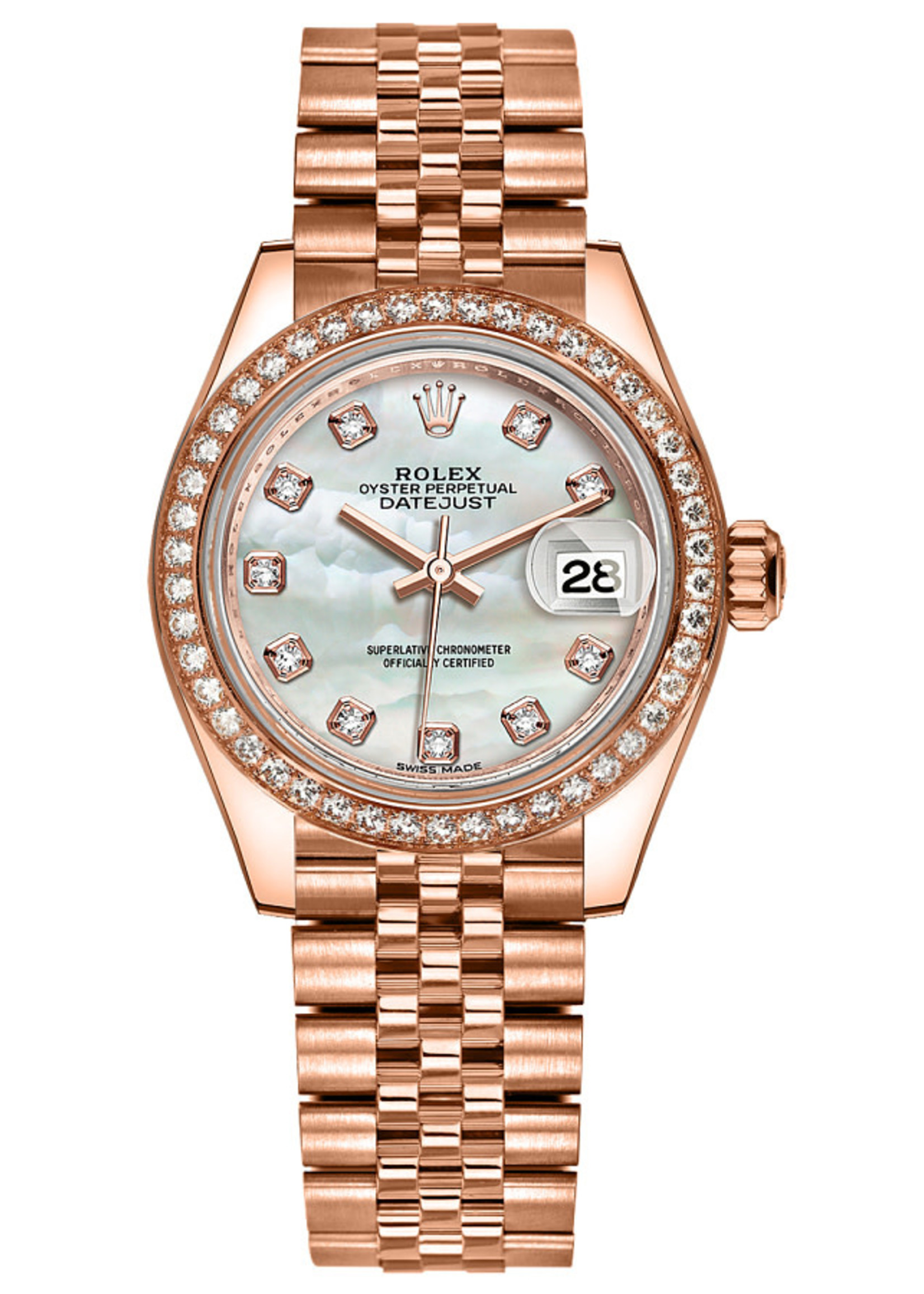 Rolex Watches ROLEX LADY DATEJUST 26MM 2001 JUBILEE ROSE GOLD