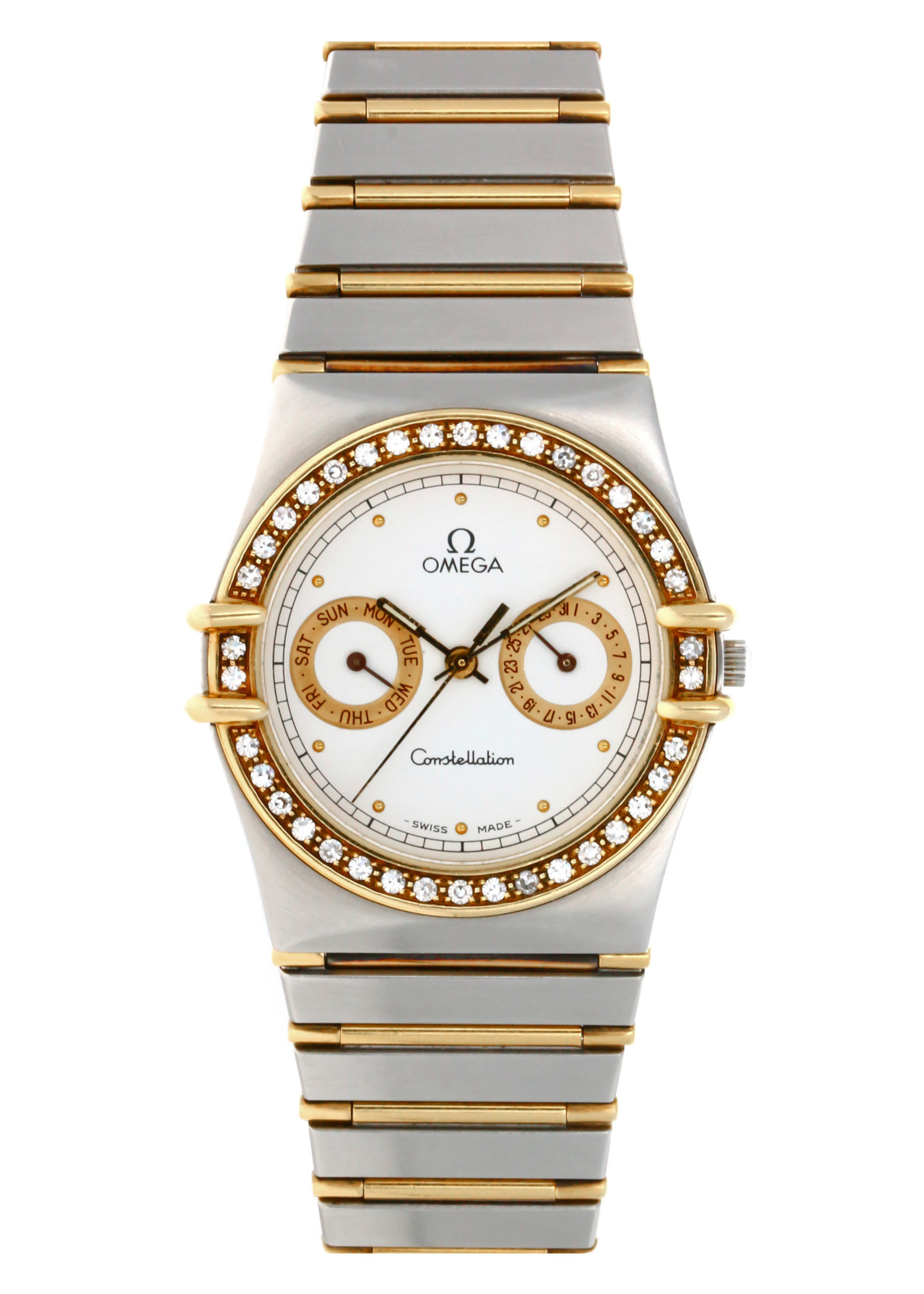 Omega Watches OMEGA CONSTELLATION FACTORY DIAMONDS