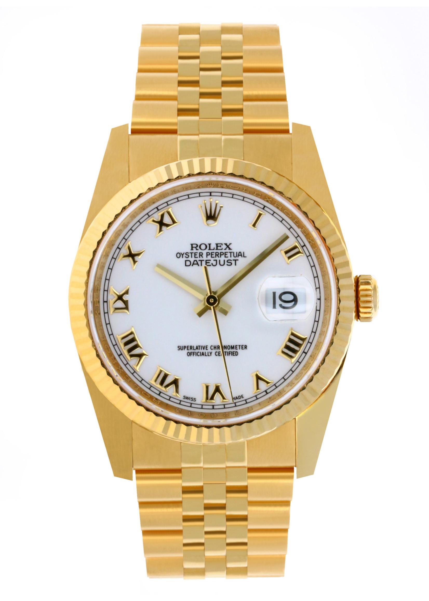 Rolex ROLEX DATEJUST 36MM (2005) #116238