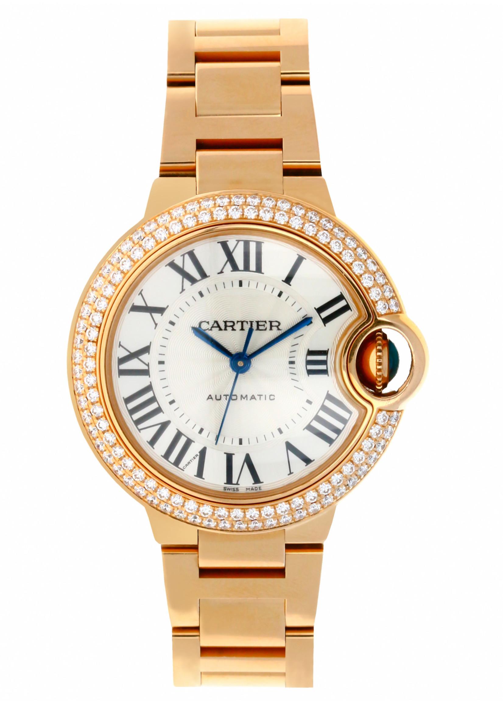 Cartier CARTIER BALLON BLEU 33MM (2018 B+P) #3682