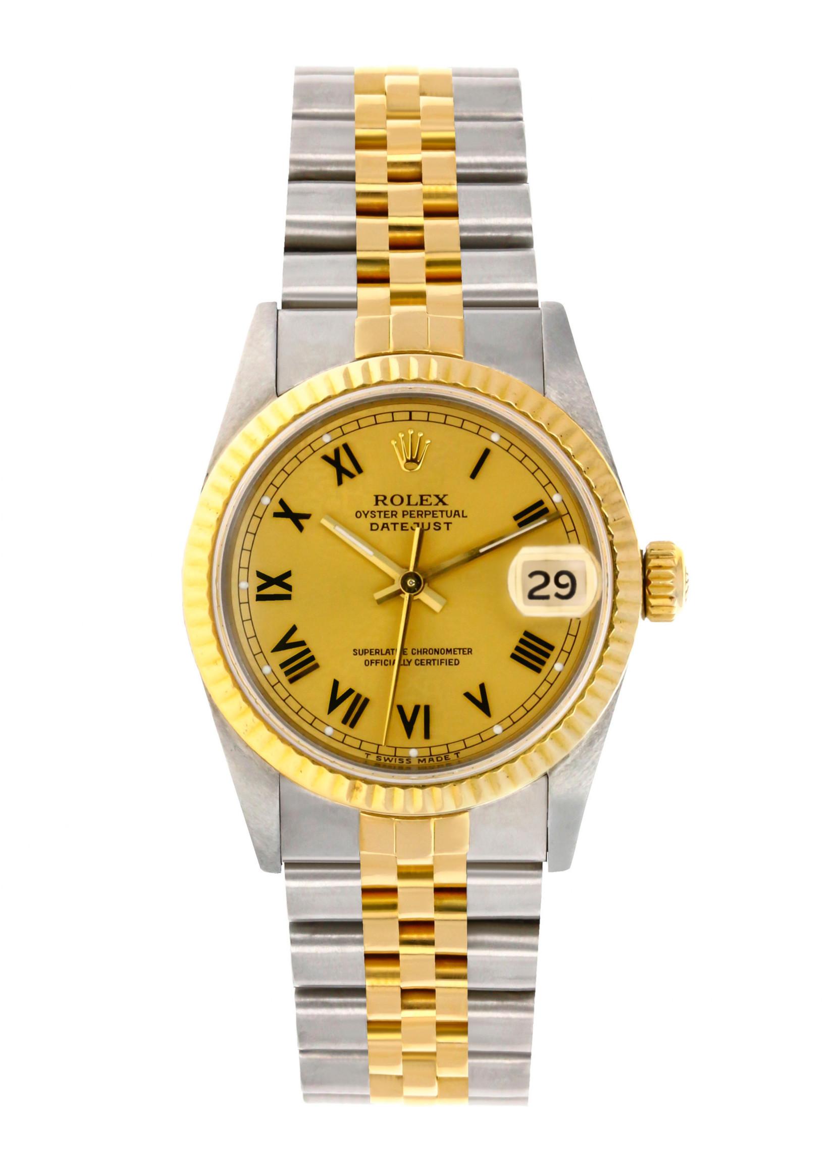 Rolex ROLEX DATEJUST 31MM #68273 (1992 B+P)