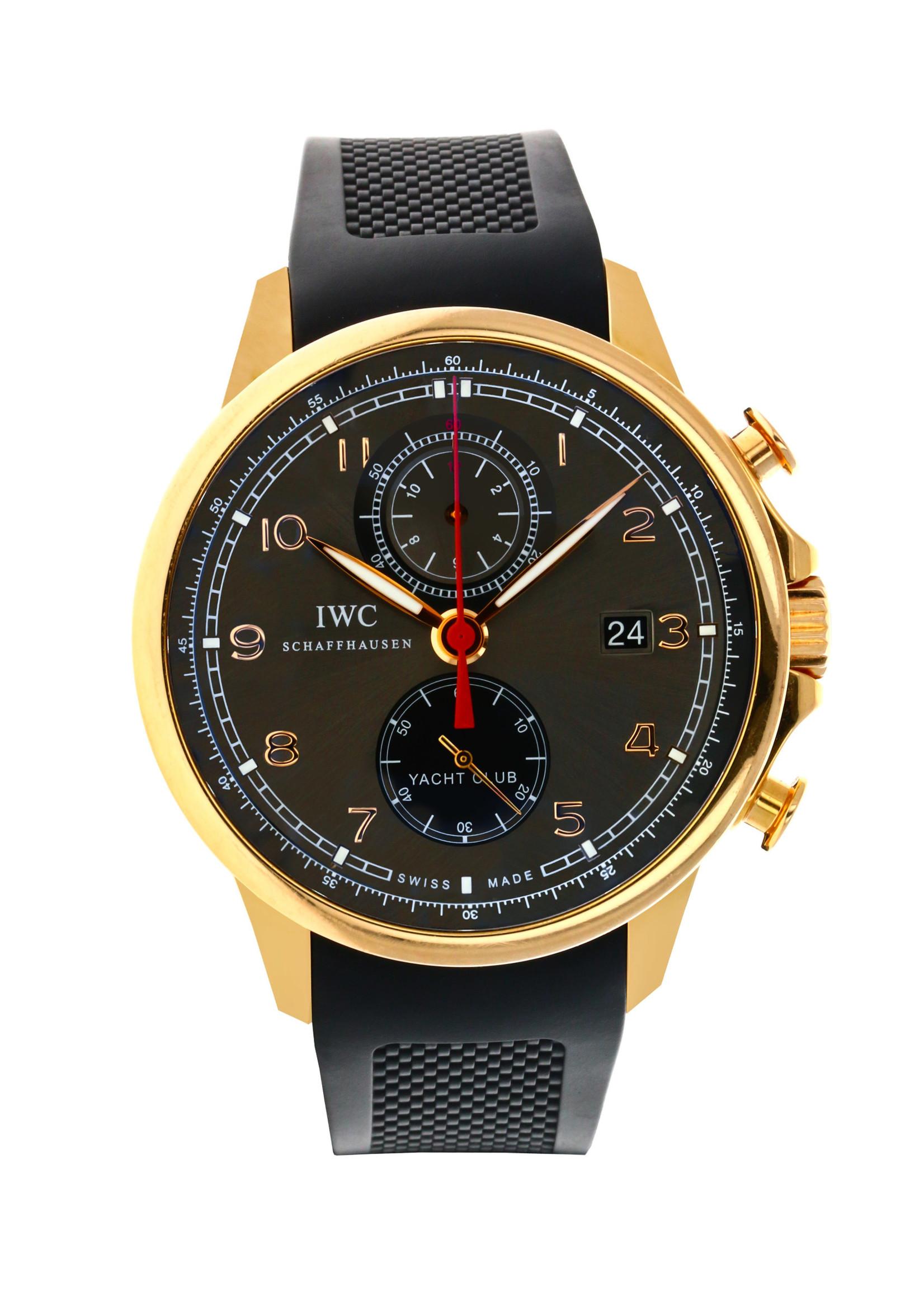 IWC IWC Portuguese Yacht Club Chronograph 45MM (2013 B+P)  #IW390209