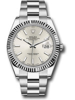 Rolex ROLEX DATEJUST 41MM (2021 B + P) #126334