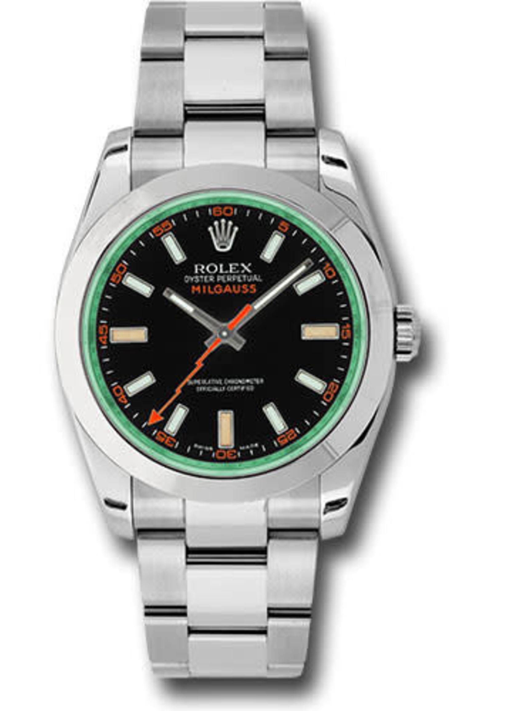 Rolex ROLEX MILGAUSS 40MM (2013 B+P) #116400GV