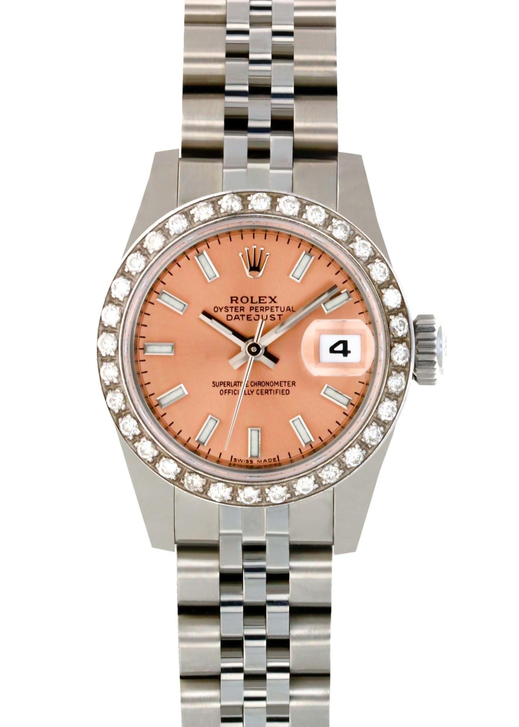 Rolex Watches ROLEX DATEJUST 26MM (B+P) #179174 NEVER WORN