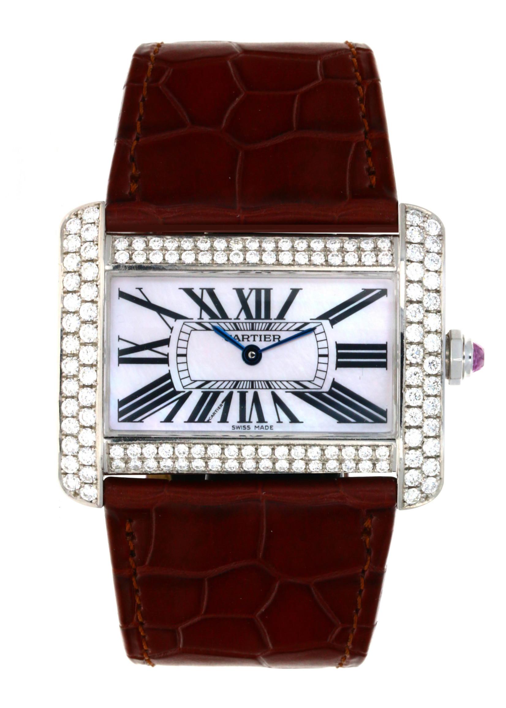 Cartier CARTIER TANK DIVAN 24.5 X 38.5MM