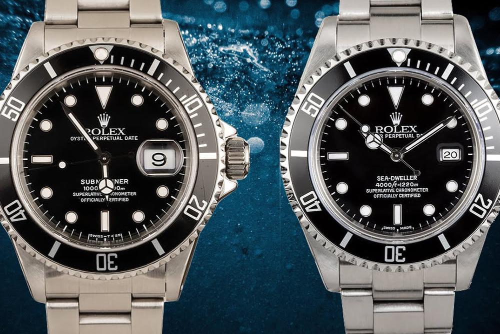 Rolex Sea-Dweller VS Rolex Submariner