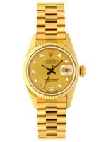 Rolex ROLEX DATEJUST 26MM 1990 PRESIDENTIAL  #69178