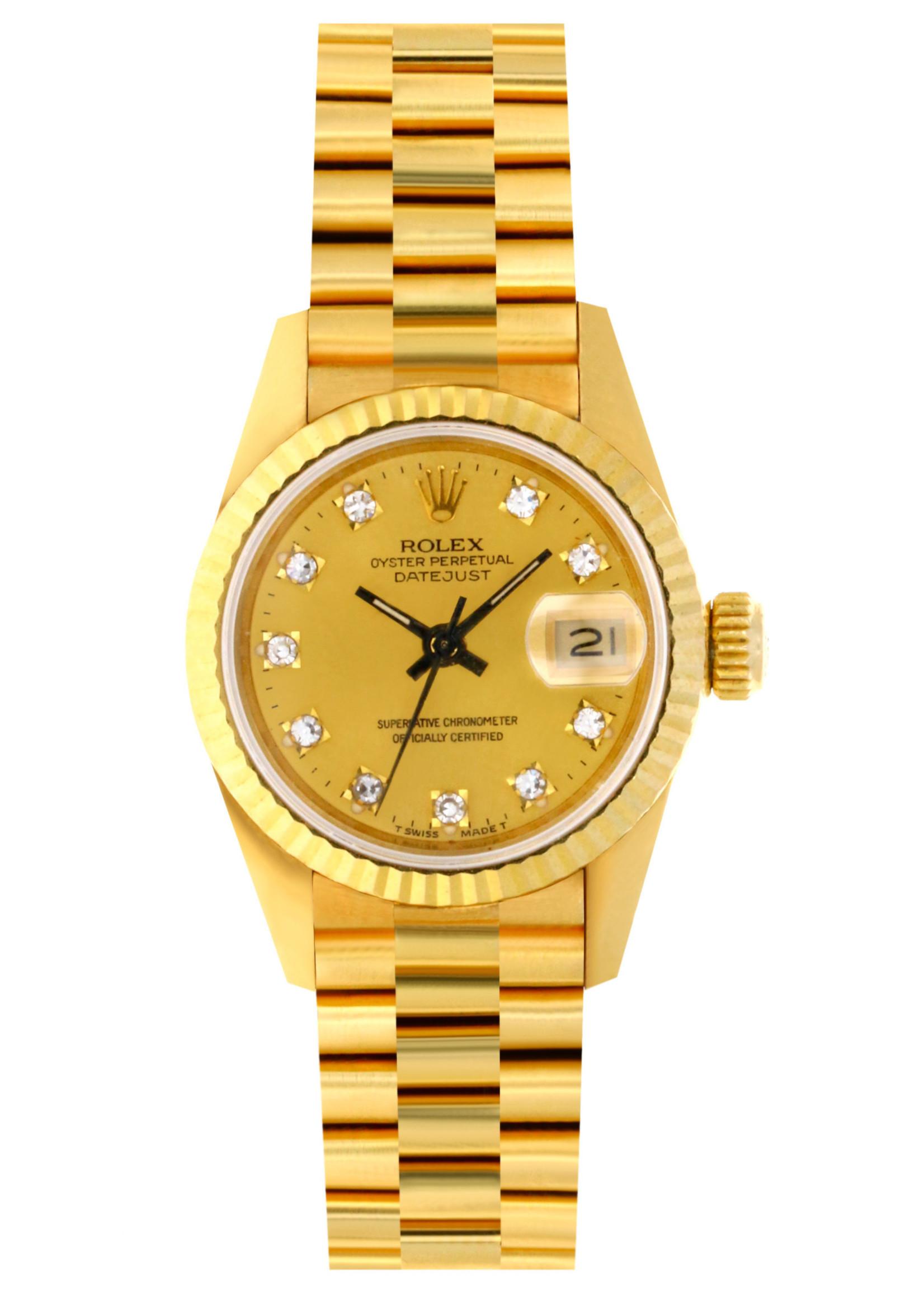 Rolex Watches ROLEX DATEJUST 26MM 1990 PRESIDENTIAL  #69178