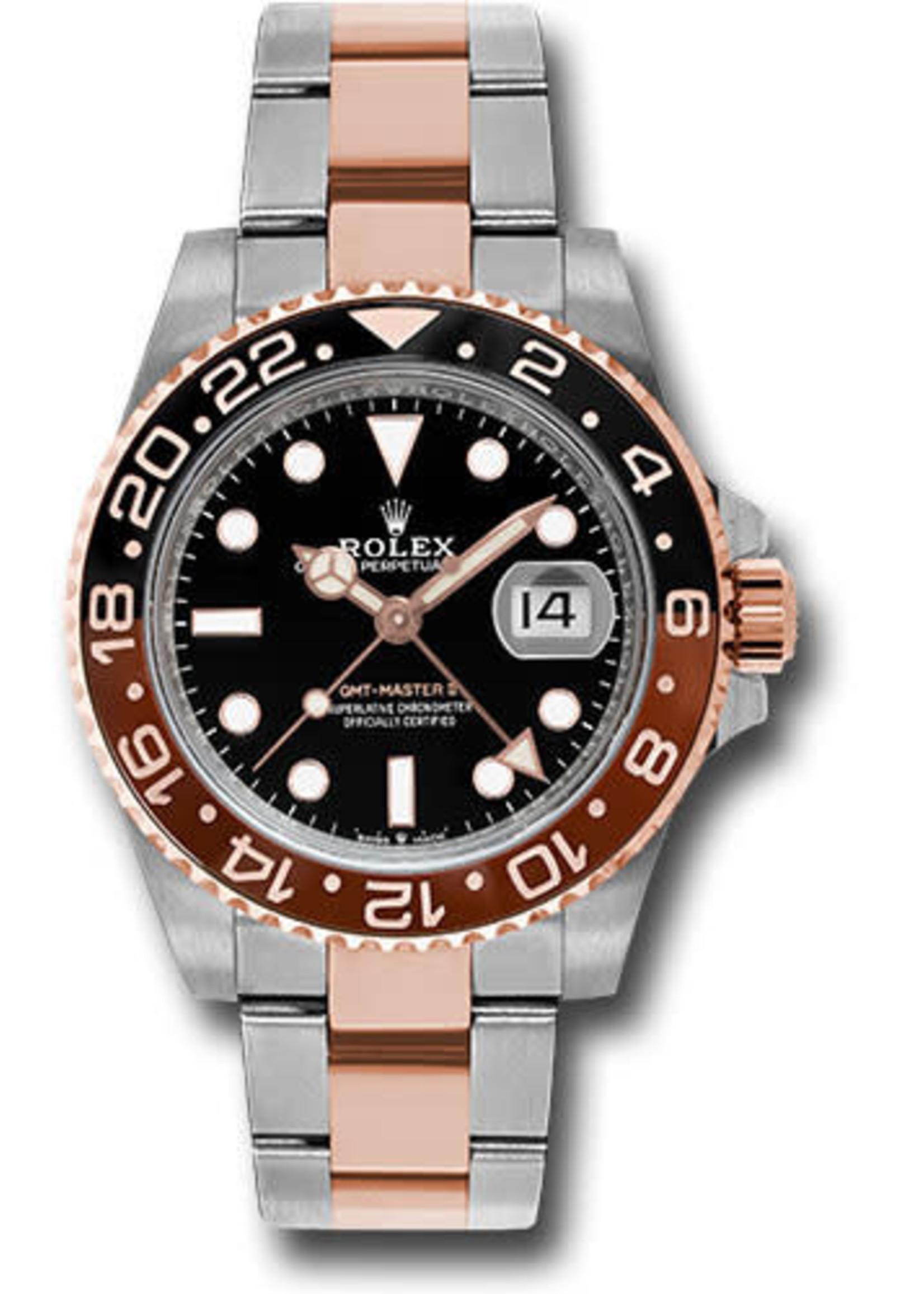 Rolex Watches ROLEX GMT MASTER II (2021 B+P) #126711CHNR