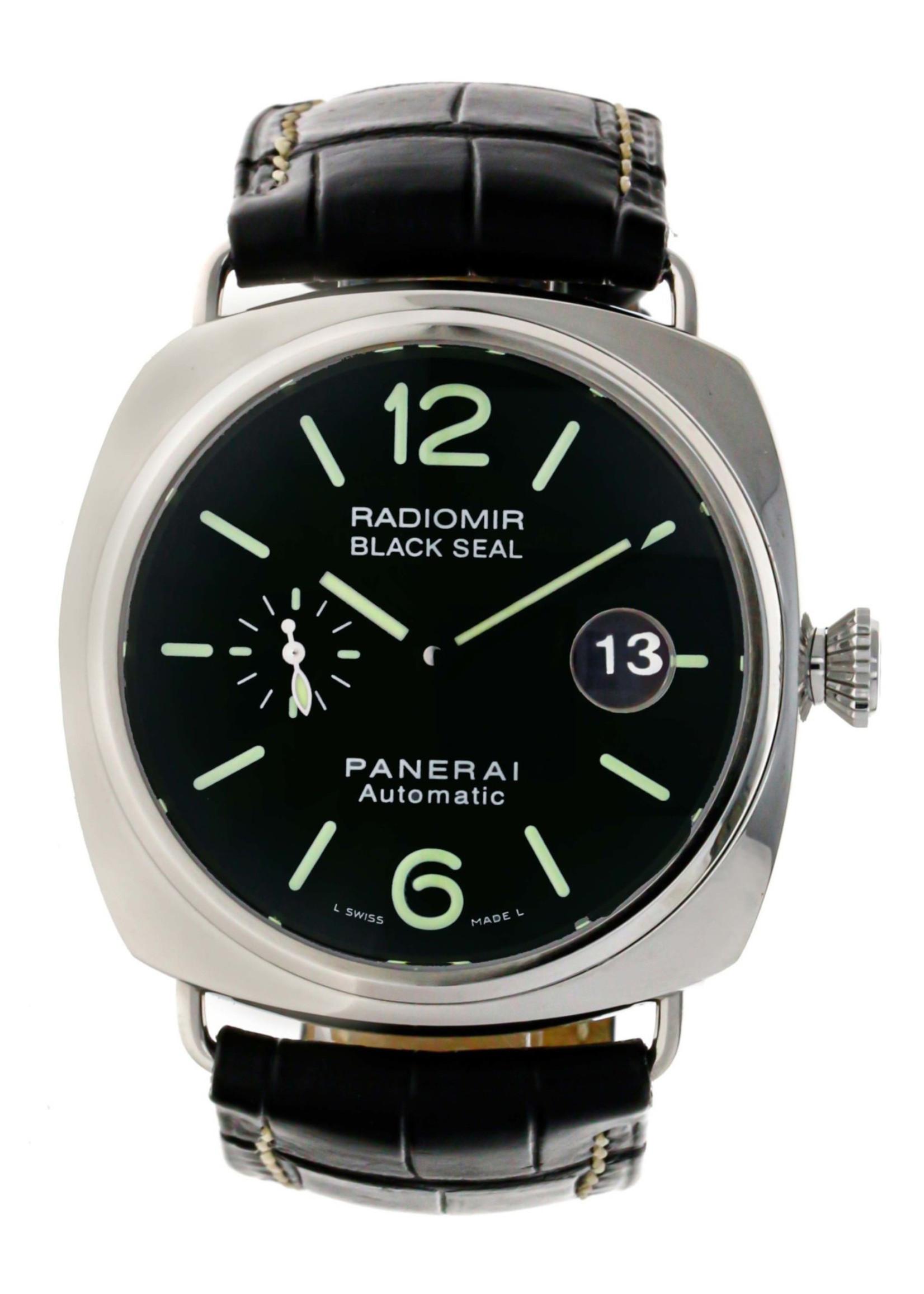 Panerai Panerai Radiomir Black Seal (2007 B+P) Pam00287
