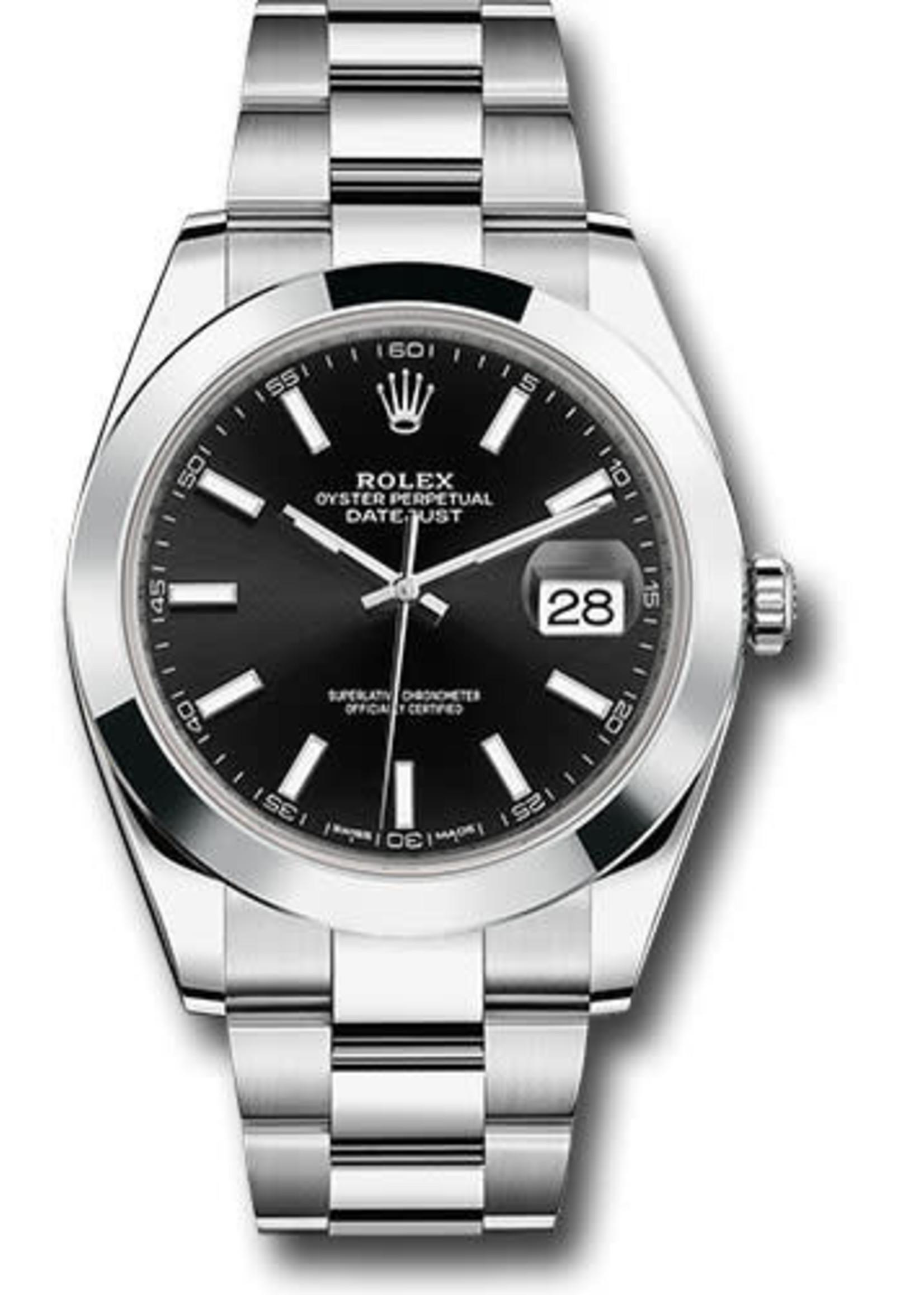 Rolex Watches ROLEX DATEJUST II 41MM (2017 B + P) #116300