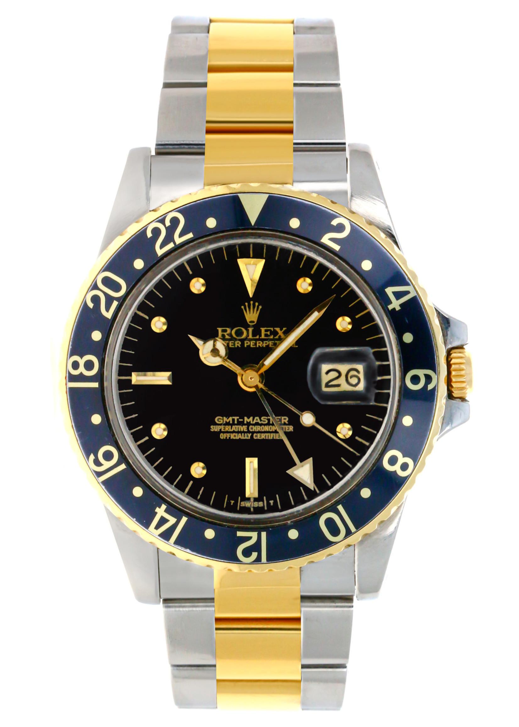 Rolex Watches ROLEX GMT-MASTER 40MM #16753  (1980)