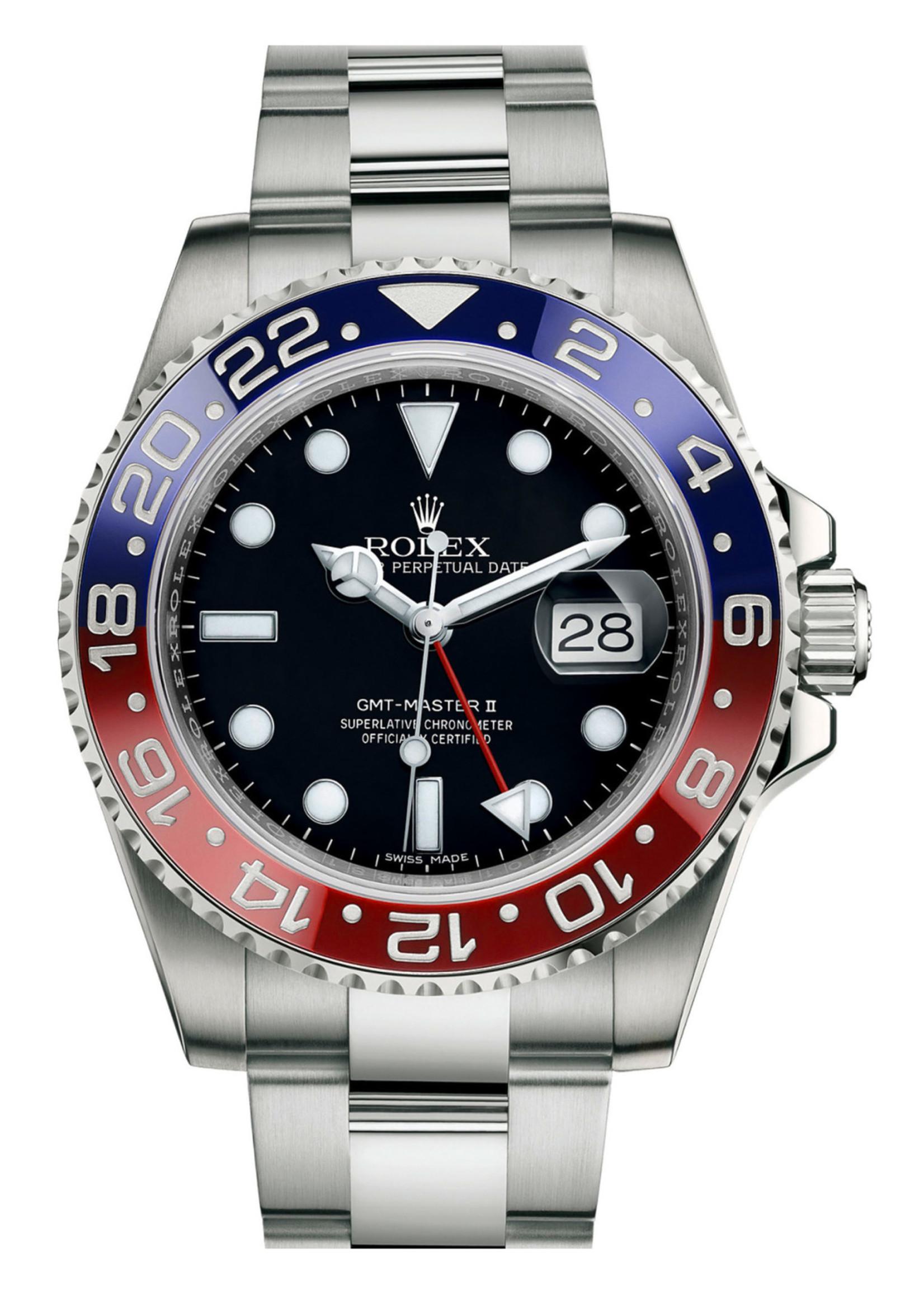 Rolex Watches ROLEX GMT MASTER II 40MM (2017) #116719BLRO
