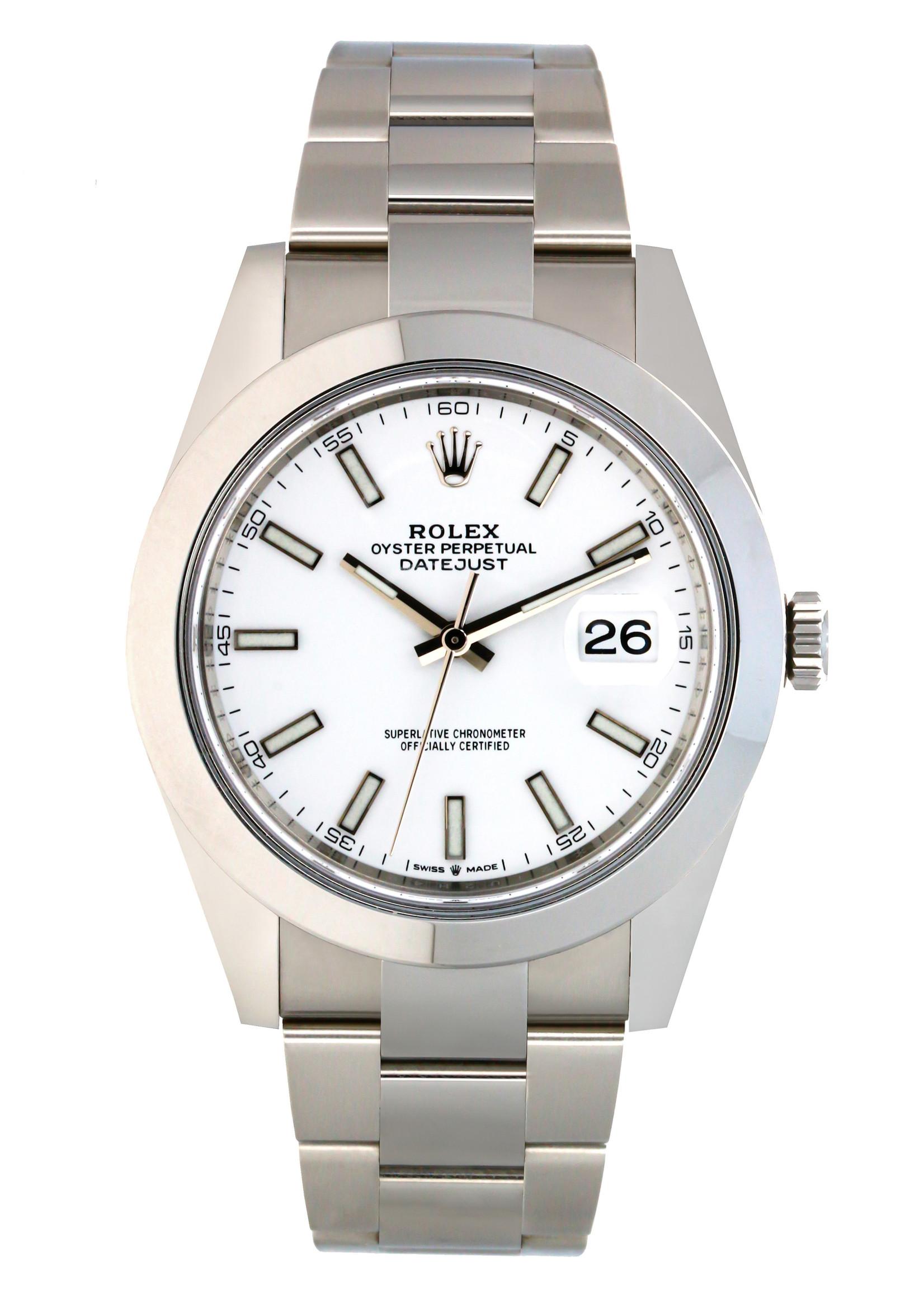 Rolex Watches ROLEX DATEJUST 41MM (2020 B+P) #126300