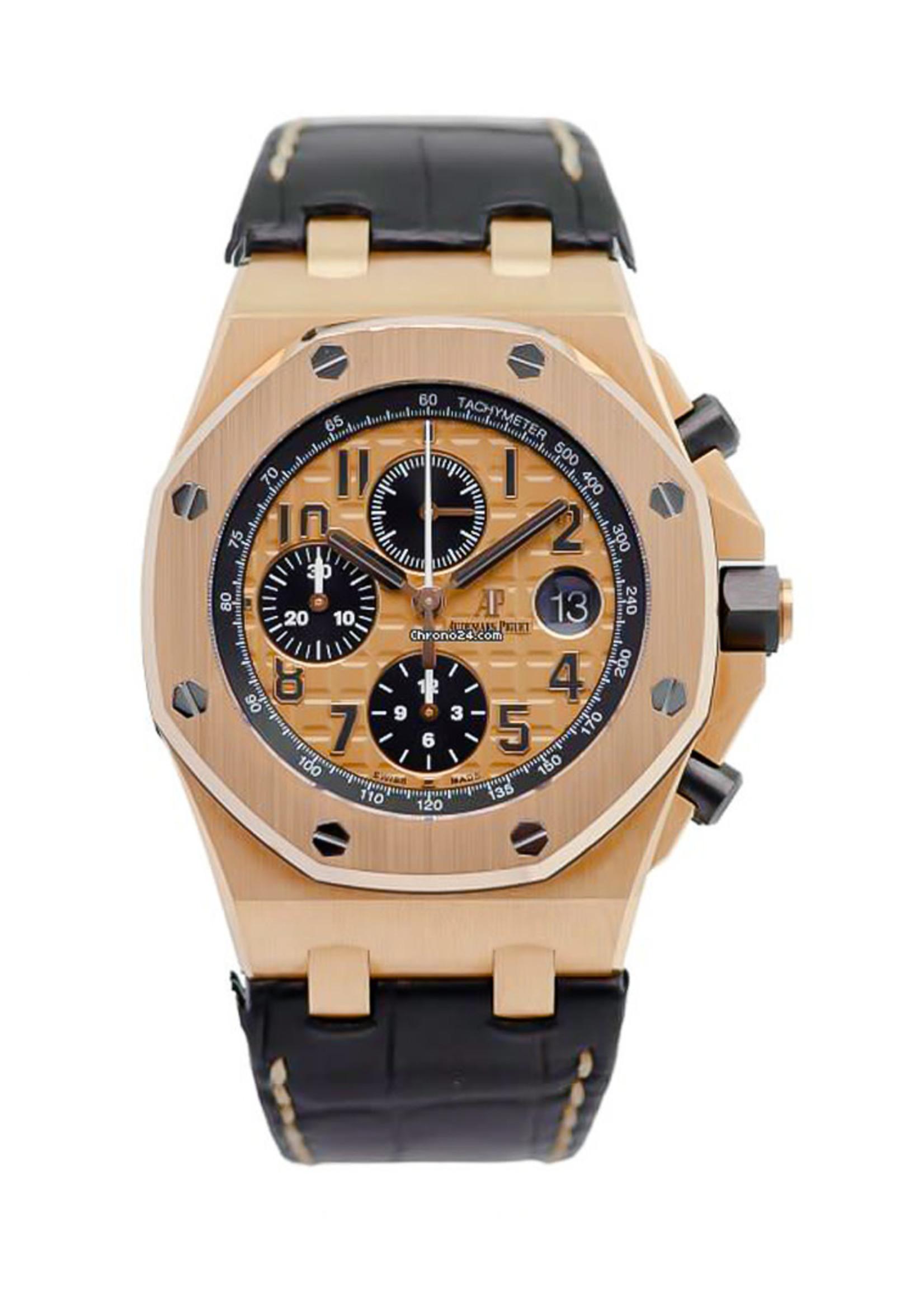 Rolex Watches AUDEMARS PIGUET 42MM ROO (2014 B+P) #26470OR.OO.A002CR.01