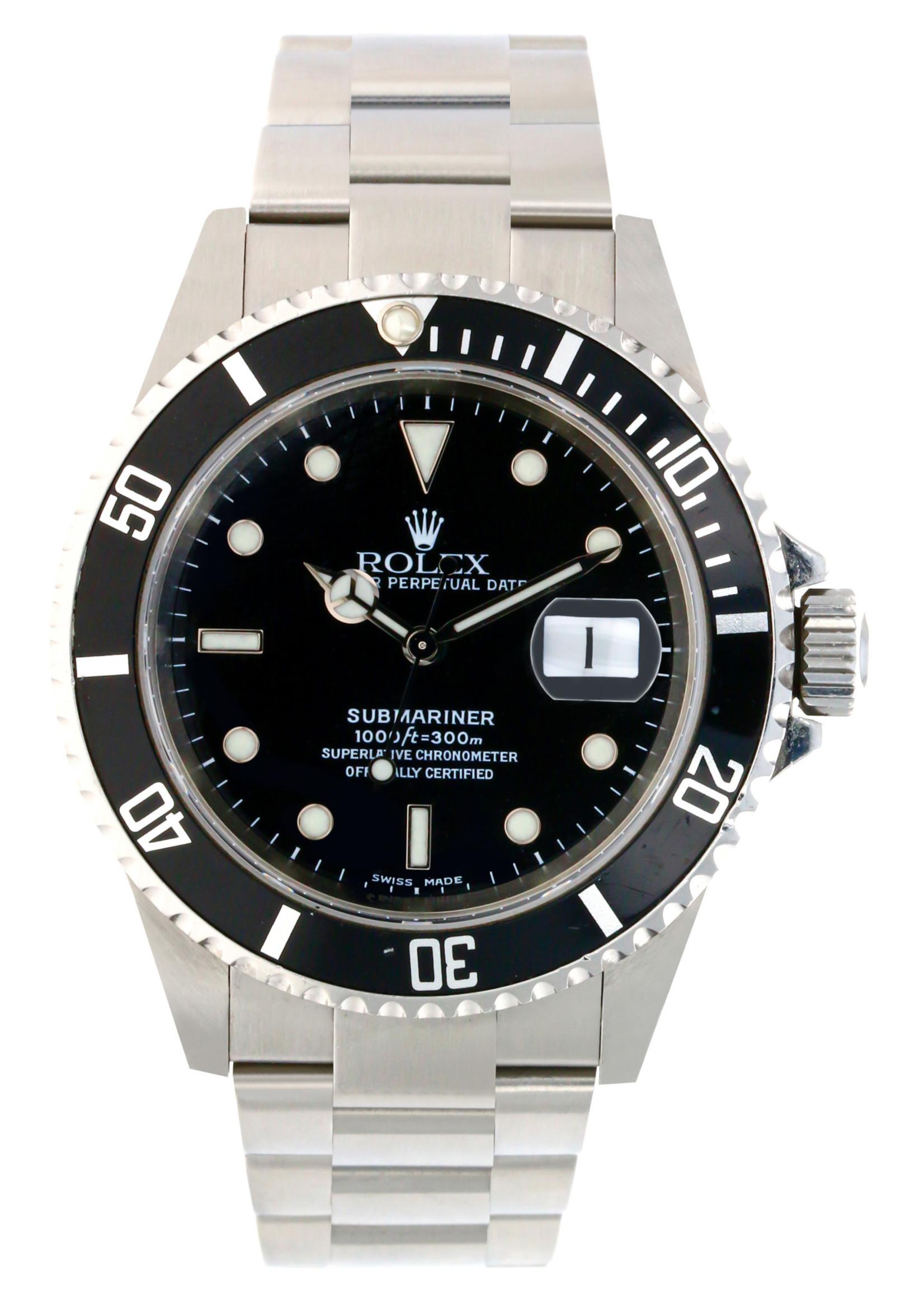 Rolex Watches ROLEX SUBMARINER 40MM (2001) #16610