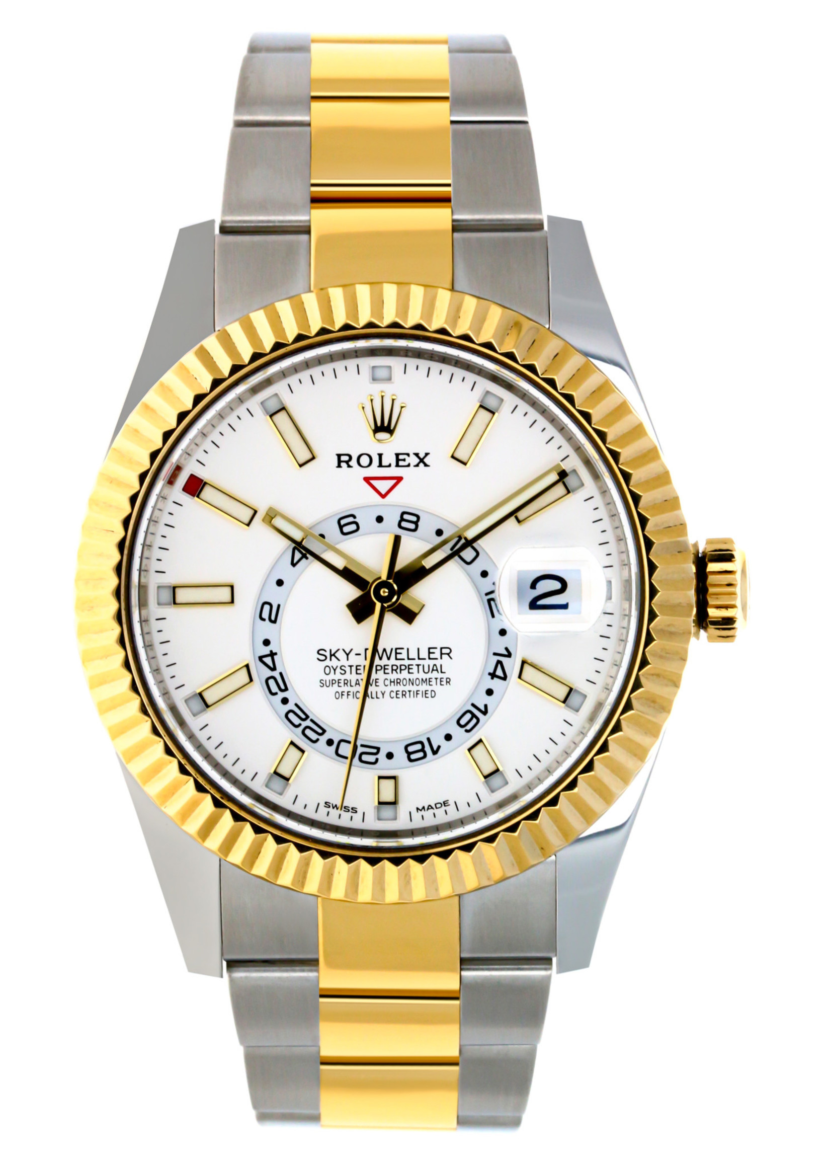 Rolex Watches ROLEX SKYDWELLER 42MM (2021 B+P) #326933