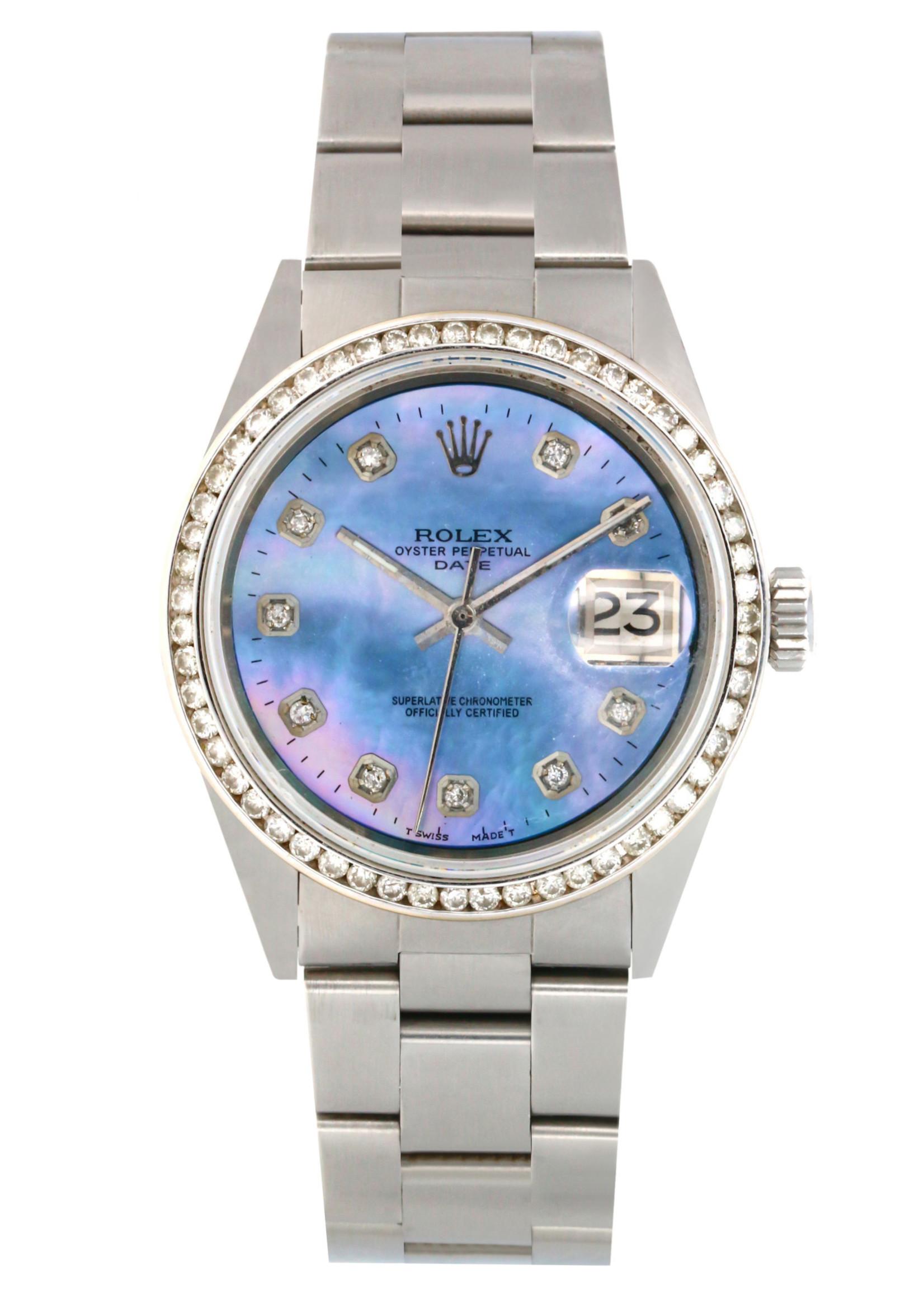 Rolex Watches ROLEX DATE 34MM #1500 (1968)