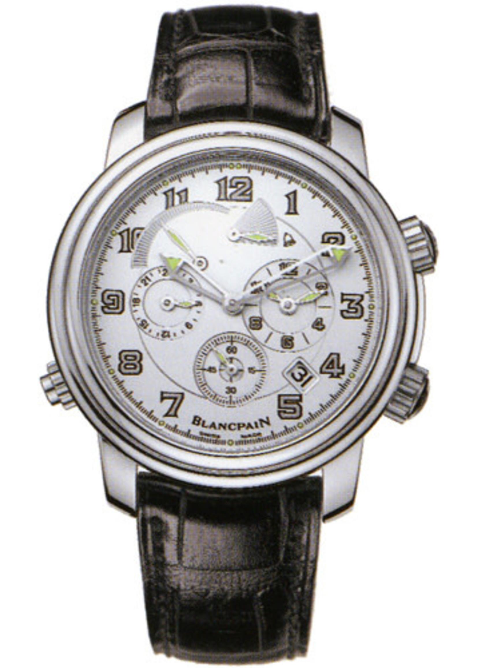BLANCPAIN BLANCPAIN LEMAN REVEIL GMT 2041-1542M-53B (B+P)