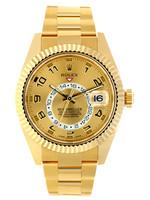 Rolex Watches ROLEX SKY DWELLER YELLOW GOLD 42MM (2019 B + P)#326938