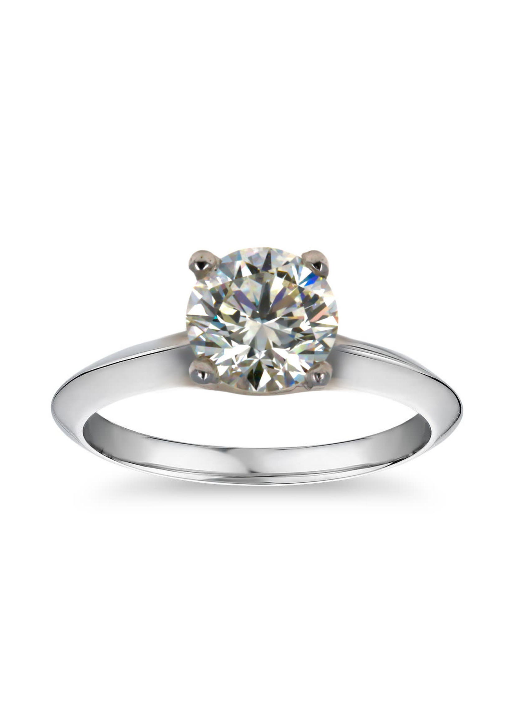 Jewellery 1.71 CT SOLITAIRE DIAMOND PLATINUM RING - VS-1/ J / EXCELLENT