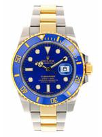 Rolex Watches ROLEX SUBMARINER 40MM #116613LB (2018 B+P)