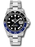 Rolex Watches ROLEX GMT MASTER II (2021 B+P)  #126710BLNR