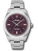 Rolex Watches ROLEX OYSTER PERPETUAL 39MM (2017 B + P) #114200