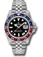 Rolex Watches ROLEX GMT-MASTER II 40MM #126710BLRO (2020 B+P)