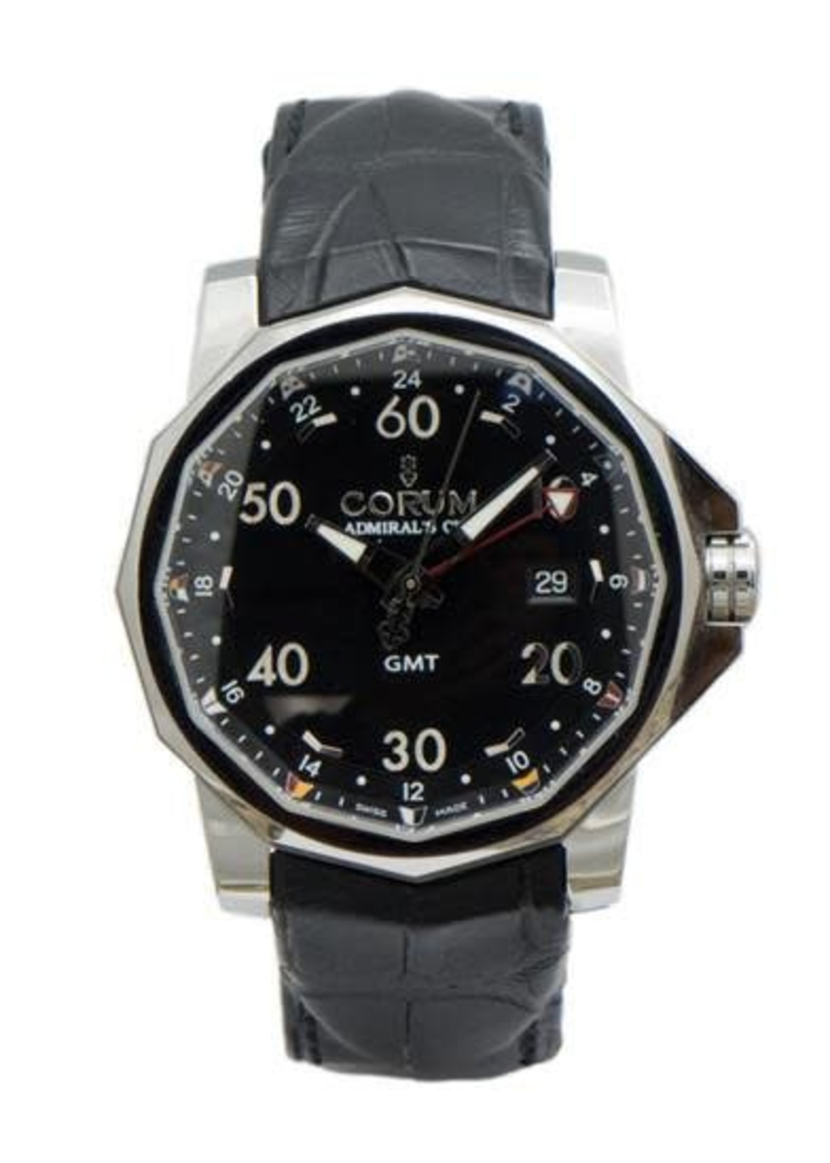 corum CORUM, ADMIRAL'S CUP GMT STAINLESS STEEL