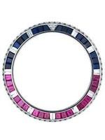 Rolex Rolex Gmt Red & Blue Quartz Baguettes & Diamonds Bezel