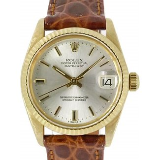 Rolex ROLEX DATEJUST 31 LEATHER