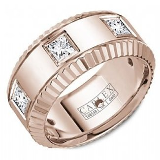 CARLEX CARLEX RING 18K ROSEGOLD .90CT VS1