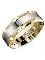 CARLEX CARLEX RING 18K WHITE AND YELLOW GOLD
