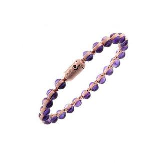 SAURO SAURO Minisphera Violet Amethist Bracelet #358