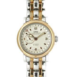 Oris Pointer Date Chronometer STEEL, NEW NEVER WORN