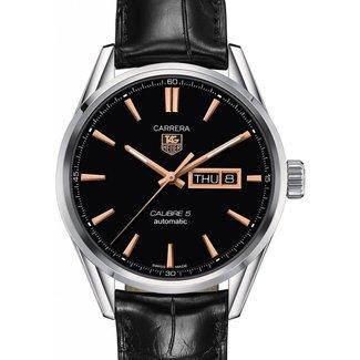 Tag Heuer TAG HEUER Carrera Automatic Black Dial Men's Watch WAR201C (B+P)