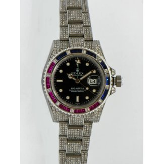 Rolex Rolex GMT Master II Iced Out