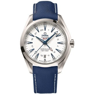Omega OMEGA AQUATERRA GMT SI14 (B+P) 24 HOUR NOTICE ONLY