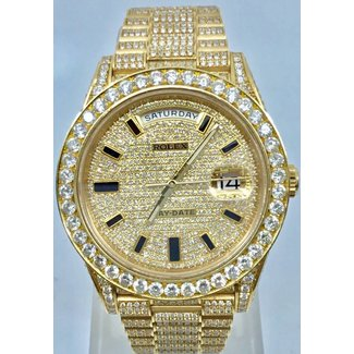 Rolex ROLEX DAY DATE 40MM ICED OUT (2016 B+P)