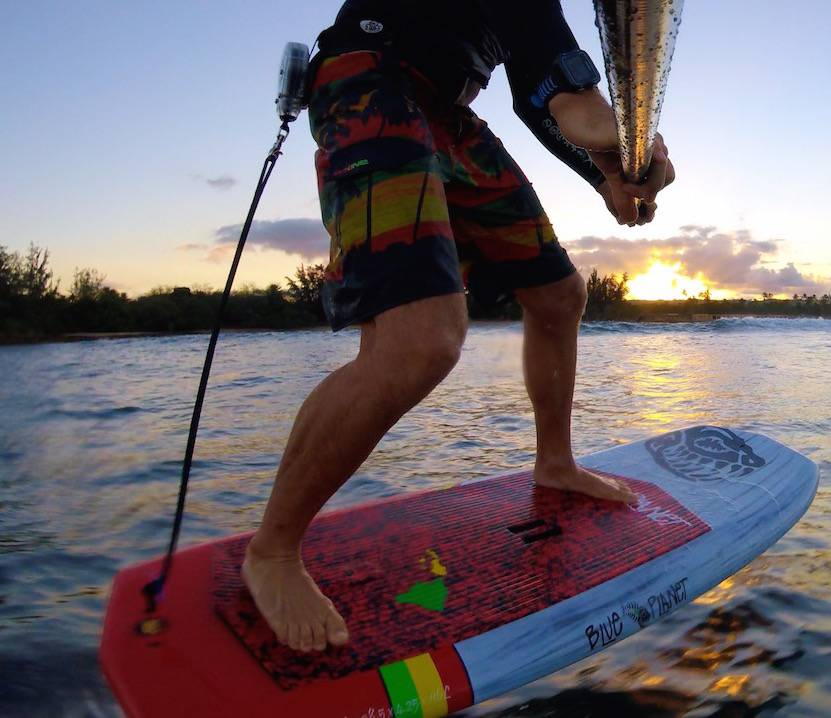 Learn to SUP Foil in Hawaii