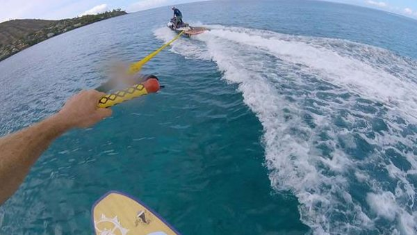 Learning to Fly on a Foilboard While We Wait for the SUP Foils