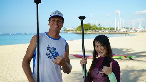 How To Stand Up Paddleboard with Verena Mei